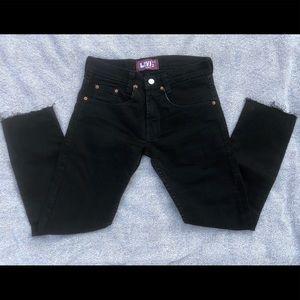 Levi's Women's 511 Straight Leg Frayed Hem Jeans